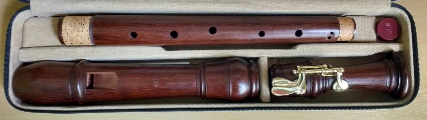 Moeck Rottenburgh Tenor Recorder, Palisander