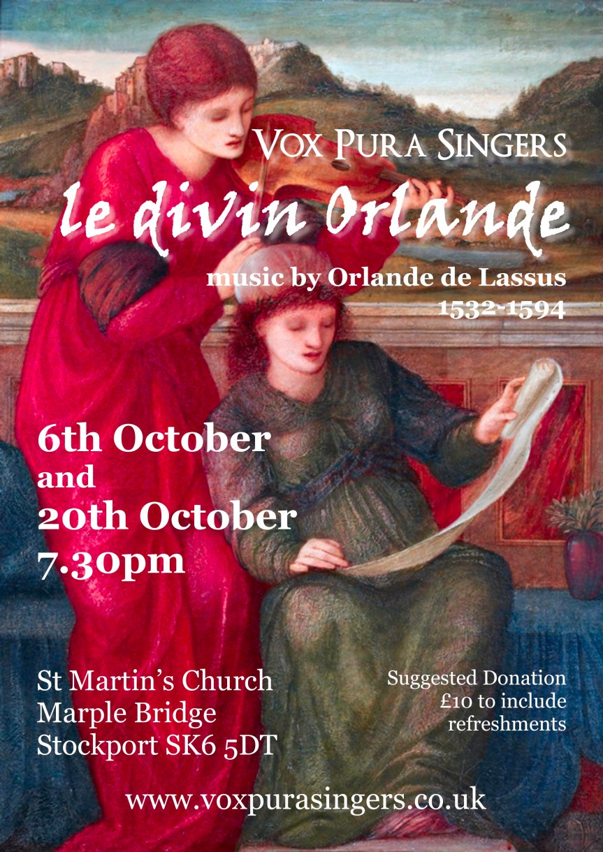 October 2018 concert poster final